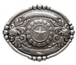 Wrangler Lone Star Belt Buckle with display stand. Product code WA4